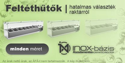 InoxBázis feltéthűtő