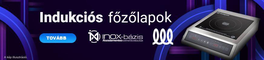 TŰZHELY / INDUKCIÓS FŐZŐLAP - InoxBázis