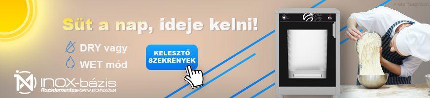 CUKRÁSZATI GÉPEK / KELESZTŐ CUKRÁSZATI - InoxBázis