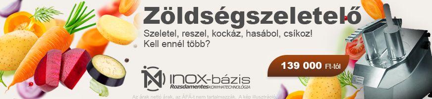 inoxbázis ZÖLDSÉGFELDOLGOZÁS / ZÖLDSÉGSZELETELŐ - InoxBázis, Attase