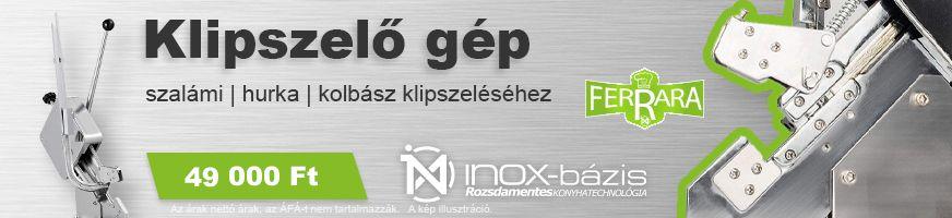 InoxBázis HÚSELŐKÉSZÍTŐK / HÚSIPARI GÉPEK - InoxBázis, Attase