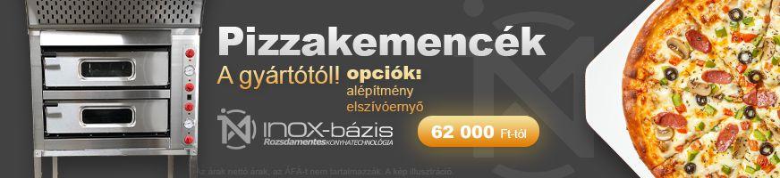 InoxBázis PIZZASÜTŐ - InoxBázis, Attase