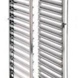 Eladó új, 14 szintes,  rozsdamentes GN1/1-es állvány, fékezhető kerekekkel(regál kocsi), exkluzív kivitel.42.000+áfa