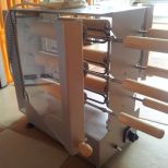 Eladó új, 6+6 fás elektromos kürtőskalács sütő. 145.000+áfa megfelelőségi nyilatkozatal: 195.000+áfa fotó
