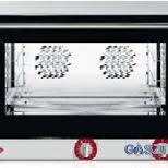 Eladó új, 4 tálcás légkeveréses sütő, párásító funkcióval, GN1/1 és 60x40-es tálca kompatibilitás!!! 197.000+áfa