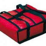 Eladó új, 50x50x20 cm-es pizzaszálító táska 7.900+áfa