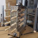 Eladó új, 8+8 fás kürtöskalács sütő 195000+áfa