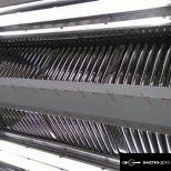 Rozsdamentes nagykonyhai ipari elszívó ernyő