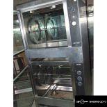 TG550 2 szintes grill csirke sütő