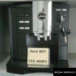 Jura 801 típusú kávégép 6 hónap garanciával eladó