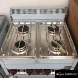 Gáztűzhely elektromos légkeveréses sütővel