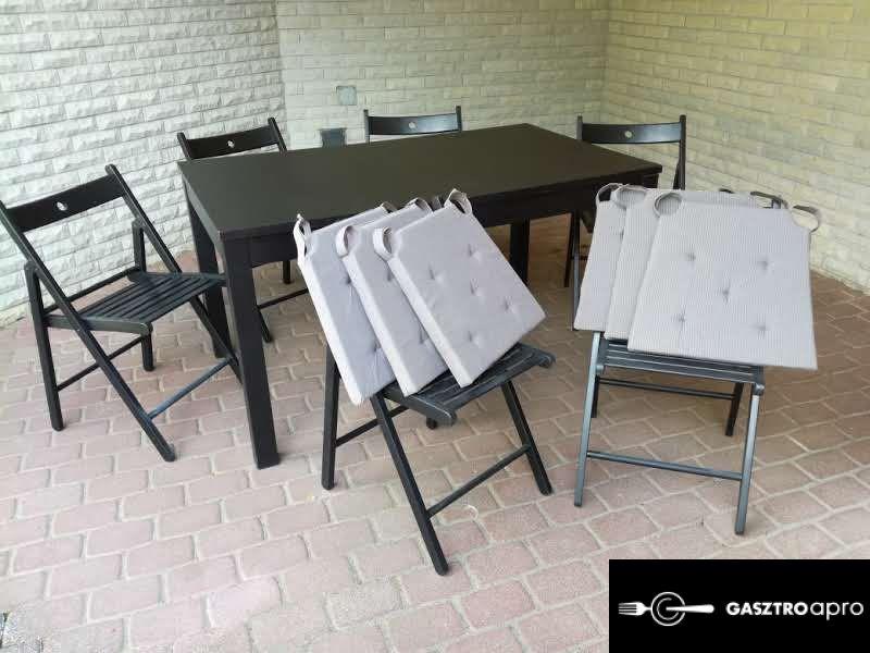 ELADÓ asztal 6 / 8 székkel ! - Gasztroapró