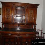 Antik Ó-német tálaló szekrény