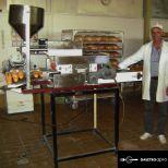 Fokhagymás baguette töltő gép