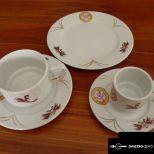 Kézműves, kávés- mokkás, süteményes készlet (166 db)