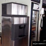Manitowoc ice machine + dispenser model #qpa-310