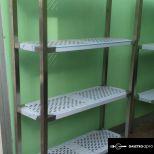 Perforált állvány  Bemutató darab Akciós áron! 1200x400x1800 mm