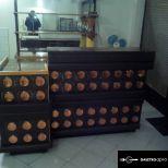 Kávézó, vendéglátó pult +szekrény