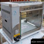 új inox gázüzemű 6-8 csirkés grillsütő grillcsirkesűtő garanciával!
