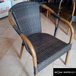 Extra minőségű polyrattan fotelek, és kör alakú asztalok eladók!
