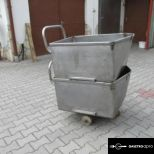 Eladó rozsdamenetes húsipari kocsi