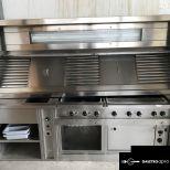 MKN optima700 elektromos főzősor melegentartó, rostlap, kerámia lap