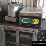 Salvis légkeveréses sütő felújítva garanciával
