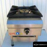 új inox ipari nagy konyhai 8kw-os gázzsámoly fözőzsámoly garanciával!