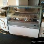 Bocchini 12 tégelyes, ívelt üvegű Prémium fagylaltpult eladó