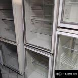 Üvegajtós hűtő:pult alá rakható 160 literes garanciával