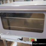 új inox Challenger 4 tálcás kombi sütő, GN 1/1 vagy 600x400 sütőlemezzel