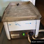 új inox fóliás ipari 33cm-es szeletsütő rostlap 32x48,5cm-es sütőfelülettű