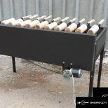 székelyföldi faszenes kürtöskalács sütőgép