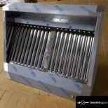 új inox ipari nagy konyhai 100x80x45cm-es  elszivó elszivóernyő páraelszivó garanciával!