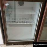 Üvegajtós ventilátoros  150 literes hűtőszekrény bevizsgálva