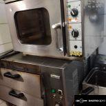 Légkeveréses sütő 230 V