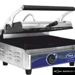 új inox ipari nagy konyhai kontaktgrill tost sütő 40x25cm-es sütőfelülettel