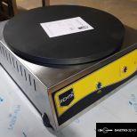 új inox ipari 40cm-es palacsintasütő óriáspalacsinta sütő