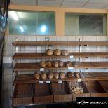 Kenyér és péksüteménytartó polc