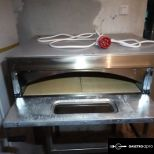 Egyaknás 4-es pizzasütő kemence DOMINOX FF4 6 hónap garanciával