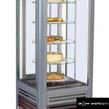 Süteményes vitrin forgó üvegpolcokkal - SCA Antila 02