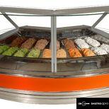 19 tégelyes külső sarok fagylaltpult - K-1 MGI 19/NZ 90 - MAGNUM ICE