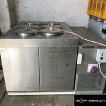 Mozgó fagylaltárusító hűtőberendezés