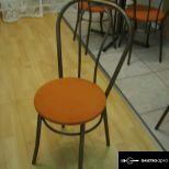 2 db thonet csővázas körasztal 6 db székkel