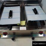 Elektromos dupla fritőz-asztali