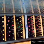 Borhűtő szekrény SW-180 - Kétszekciós, kompresszoros